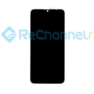 For Huawei P Smart+ 2019 LCD Screen and Digitizer Assembly Replacement - Black - Grade S+