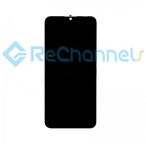 For Huawei Honor 20 Lite LCD Screen and Digitizer Assembly Replacement - Black - Grade S+