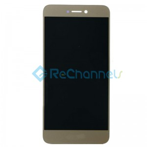 For Huawei Honor 8 Lite LCD Screen and Digitizer Assembly Replacement - Gold - Grade R