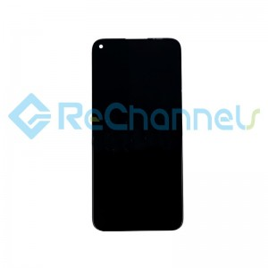 For Huawei P20 Lite 2019 LCD Screen and Digitizer Assembly Replacement - Black - Grade S+