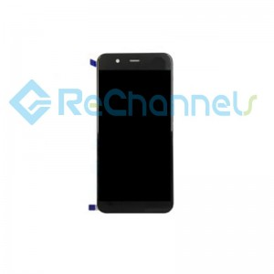 For Huawei Nova 2 plus LCD Screen and Digitizer Assembly Replacement - Black - Grade S+