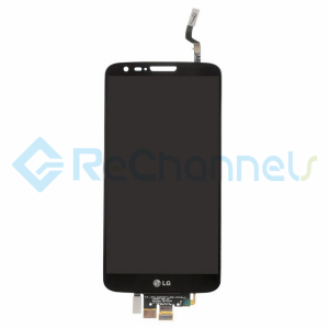 For LG G2 D802 LCD Screen and Digitizer Assembly Replacement - Black - Grade S+
