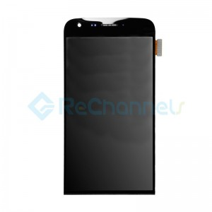 For LG G5 LCD Screen and Digitizer Assembly with Front Housing Replacement - Black - Grade S