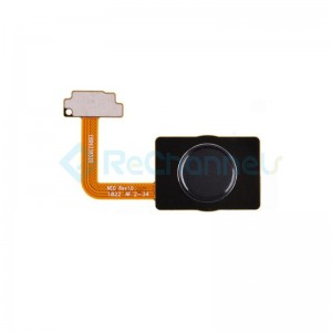 For LG G7 One Fingerprint Sensor Flex Cable Replacement - Black - Grade S+