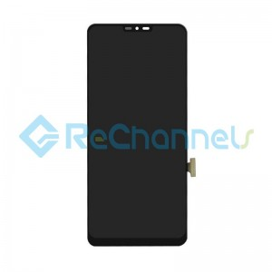 For LG G7 ThinQ LCD Screen and Digitizer Assembly Replacement - Black - Grade S+