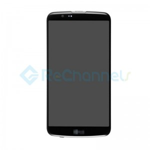 For LG K10 LCD Screen and Digitizer Assembly with Front Housing Replacement(without Small Parts) - Black - Grade S+