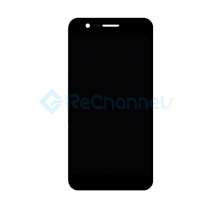 For LG K20 (2019) LCD Screen and Digitizer Assembly Replacement - Black - Grade S+