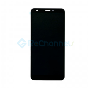 For LG K30 (2019) LCD Screen and Digitizer Assembly Replacement - Black - Grade S+