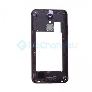 For LG K4 2017 Front Housing Replacement - Black - Grade S+