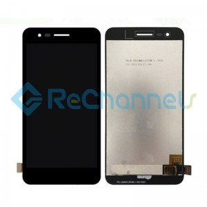 For LG K4 2017 M160 LCD Screen and Digitizer Assembly Replacement - Black - Grade S+