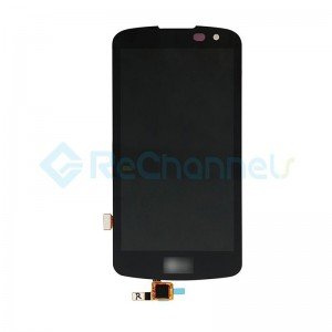 For LG K4 K121 LCD Screen and Digitizer Assembly Replacement - Black - Grade S+