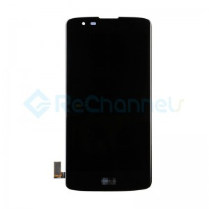 For LG K8 K350 LCD Screen and Digitizer Assembly Replacement - Black - Grade S+