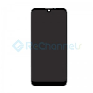 For LG Q60/K12 Prime LCD Screen and Digitizer Assembly Replacement - Black - Grade S+