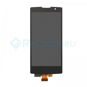 For LG Spirit H440 LCD and Digitizer Assembly Replacement - Black - Grade S