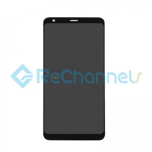 For LG Q Stylo Plus LCD Screen and Digitizer Assembly Replacement - Black - Grade S+