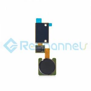 For LG V10 Finger Print Sensor Flex Cable Ribbon Replacement - Black - Grade S+