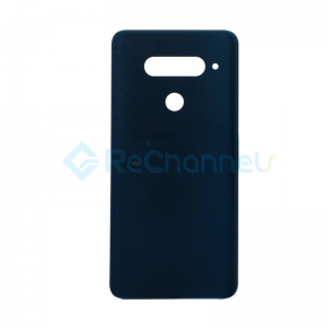 For LG V40 ThinQ Battery Door Replacement - Blue - Grade S+