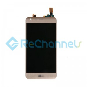 For LG X CAM K580 LCD Screen and Digitizer Assembly Replacement - Gold - Grade S+