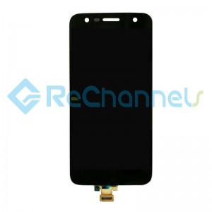 For LG X Power 2 LCD Screen and Digitizer Assembly Replacement - Black - Grade S+