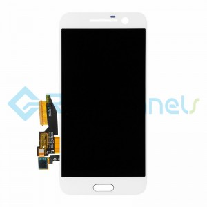 For HTC 10 LCD Screen and Digitizer Assembly Replacement - White - Grade S+
