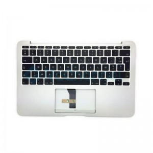 """For MacBook Air 11"""" A1465 (Mid 2013 - Early 2015) Top Case + Keyboard (US English) Replacement - Grade S+"""