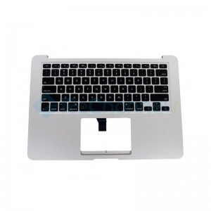 "For MacBook Air 13"" A1466 (Mid 2013 - Early 2015) Top Case + Keyboard (US English) Replacement - Grade S+"
