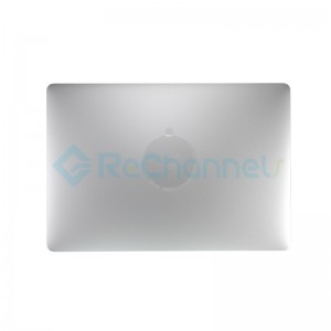 "For MacBook Pro 15"" A1707 (Late 2016 - Mid 2017) LCD Screen Full Assembly Replacement - Silver - Grade S+"