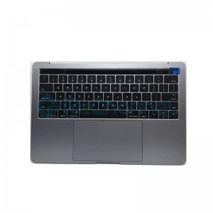 "For MacBook Pro 15"" A1707 (Late 2016 - Mid 2017) Top Case + Keyboard (US English) Replacement - Space Gray - Grade S+"