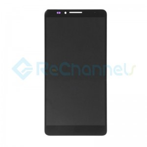 For Huawei Ascend Mate 7 LCD Screen and Digitizer Assembly Replacement - Black- Grade S+