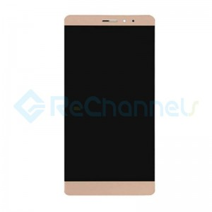 For Huawei Mate S LCD Screen and Digitizer Assembly with Front Housing Replacement - Gold - Grade S+