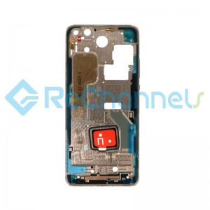 For Huawei P40 Pro Middle Frame Replacement - Gold - Grade S+