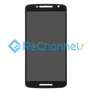 For Motorola Moto X Play XT1561/XT1562 LCD Screen and Digitizer Assembly Replacement -Black - Grade S