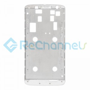 For Motorola Moto X Play Front Housing Replacement - White - Grade S+