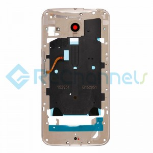 For Motorola Moto X Style Middle Plate Replacement - Gold - Grade S+