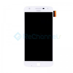 For Motorola Moto Z Play LCD Screen and Digitizer Assembly Replacement - White - Grade S+
