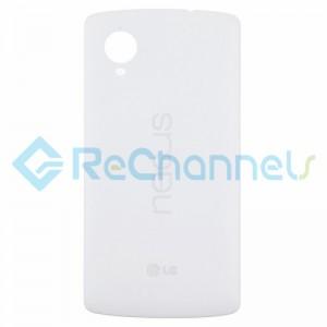 For LG Nexus 5 D820 Battery Door Replacement - White - Grade S+