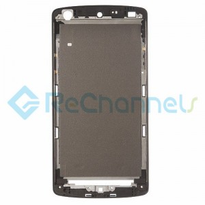 For LG Nexus 5 Front Housing Replacement (Black Ear Speaker Mesh Cover) - Black - Grade S+