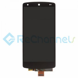 For LG Nexus 5 LCD Screen and Digitizer Assembly Replacement - Black - Grade S+