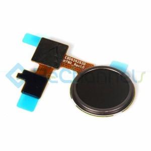 For LG Nexus 5X Home Button Flex Cable Ribbon Replacement - Black - Grade S+