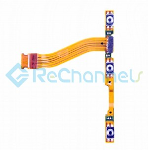 For Motorola Nexus 6 Power Button and Volume Button Flex Cable Ribbon Replacement - Grade S+