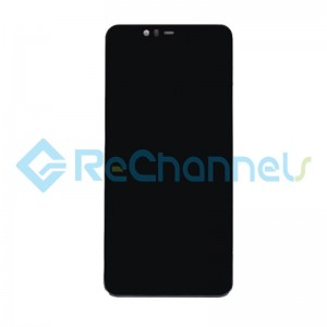 For Nokia 5.1 Plus LCD Screen and Digitizer Assembly Replacement - Black - Grade S+