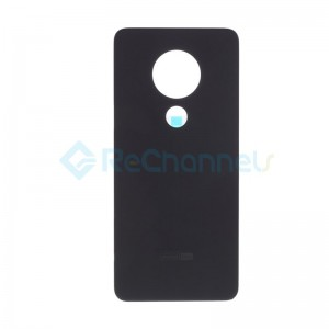 For Nokia 6.2 Battery Door Replacement - Ceramic Black - Grade S+