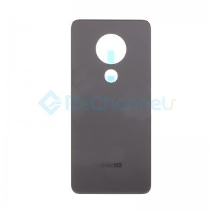 For Nokia 6.2 Battery Door Replacement - Gray - Grade S+