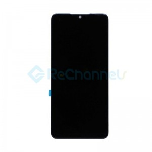 For Nokia 7.2 LCD Screen and Digitizer Assembly Replacement - Black - Grade S+