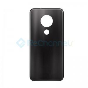 For Nokia 7.2 Battery Door Replacement - Black - Grade S+