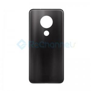 For Nokia 7.2 Battery Door Replacement - Charcoal Gray- Grade S+