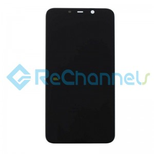 For Nokia 8.1 LCD Screen and Digitizer Assembly Replacement - Black - Grade S