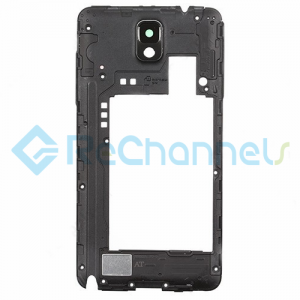 For Samsung Galaxy Note 3 SM-N900A/N900T Rear Housing Replacement - Black - Grade S+