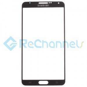 For Samsung Galaxy Note 3 Series Glass Lens Replacement - Black - Grade S+
