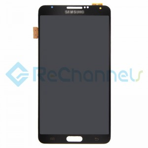 For Samsung Galaxy Note 3 Series LCD Screen and Digitizer Assembly Replacement - Black - Grade S+